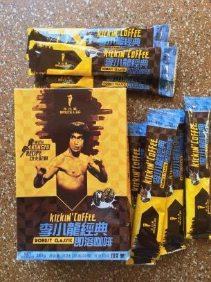 "Bruce Lee ""Kickin' Coffee"" Löslicher Kaffee"
