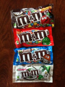 M&M Kleinpackungen Variationen