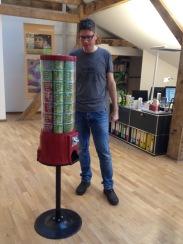 Der neue Pringles-Automat ist da!