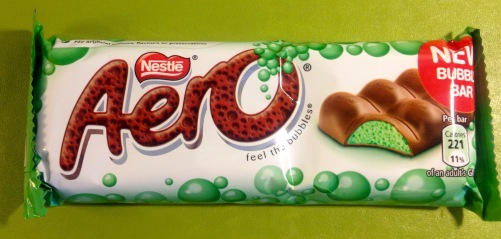 Aero Mint Riegel Nestlé