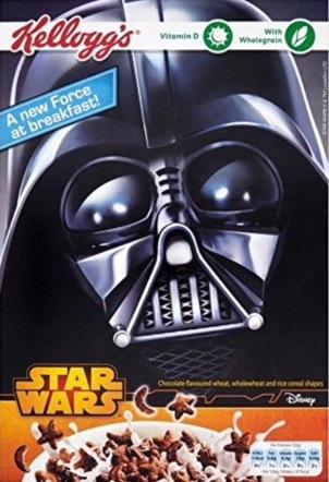 Wiederum Star Wars Cereals, dieses Mal von Kellogg's
