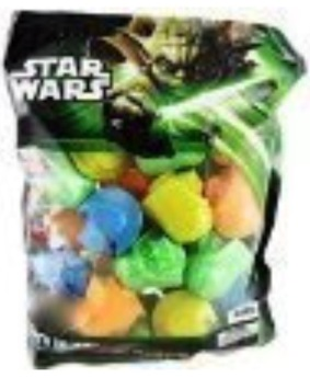 Star Wars bunte Marshmallow-Figuren