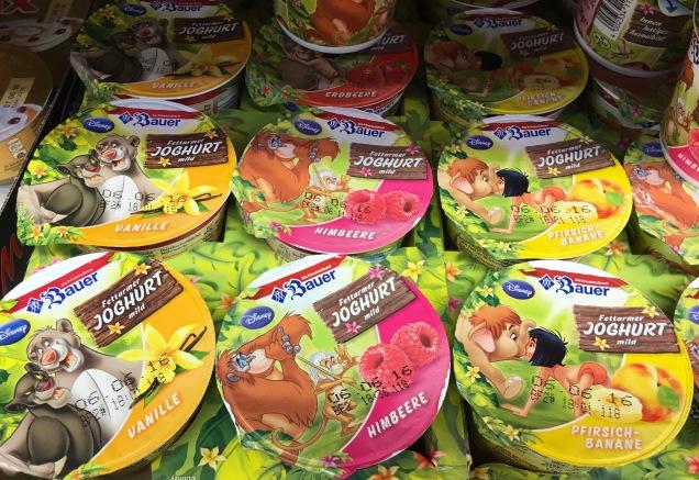 Dschungelbuch auf Bauer-Joghurt
