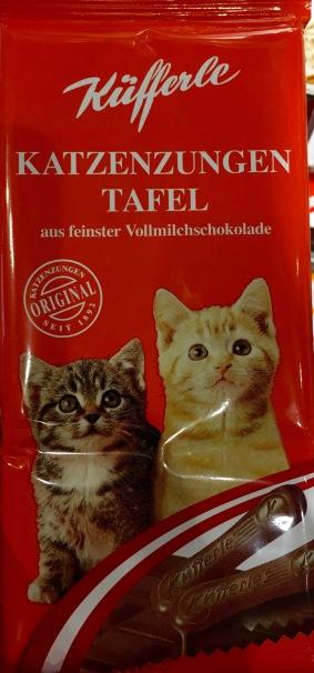 Küfferle bietet Katzenzungen auch als Tafel an.