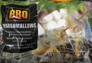 Imitat: Klassische Marshmallows bei Aldi in der Grill-Edition