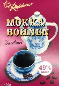 Mokkabohnen Zartbitter von Rotstern, Saalfeld, www.rotstern.de