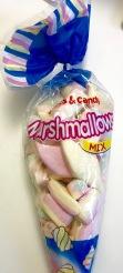 Marshmellows der österreichischen Marke Sweet & Candy, die von Gunz hergestellt wird.