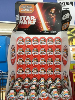 Ferrero KINDER Überraschungseier Star Wars Aufsteller