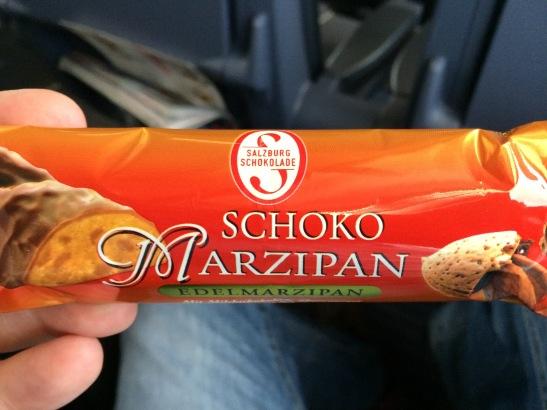 Salzburg-Schokolade. Okay, nicht deutsch, aber auch Mittelstand.