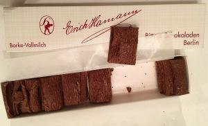 Borkenschokolade (Vollmilch) von Hamann Berlin
