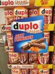 Produkt-Spin-off: Duplo Caramel.