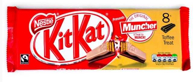 Nestlé Kitkat Muncher.