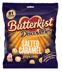 Butterkist Discoveries: Gesalzenes Karamell