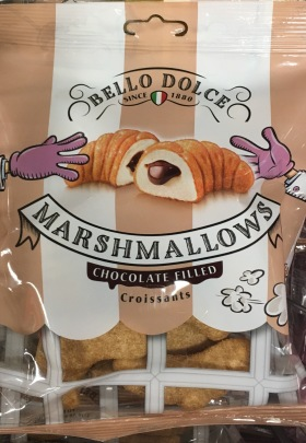 Bello Dolce Marshmallows Chocolate Croissants, gefunden bei Netto mit Hund