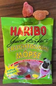 Haribo Gerd Käfers Fruchtgummi Möpse