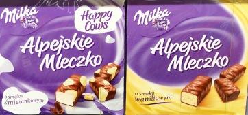 Milka Happy Cows Alpejskie Mleczko