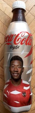 Coca Cola Light mit dem österreichischen Fußball-Talent David Alaba