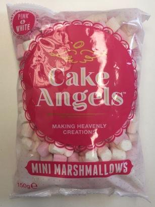 Cake Angels von Fiddes Payne: Mini Marshmallows für Kuchen und Süßspeisen