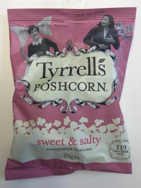 Tyrell's Poshcorn sweet & salty