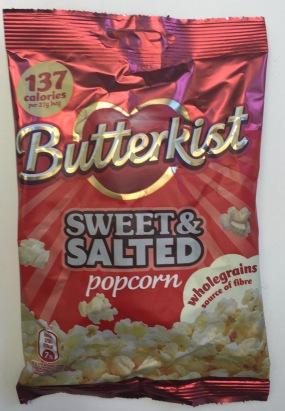 Butterkist gesüßtes und gesalzenes Popcorn