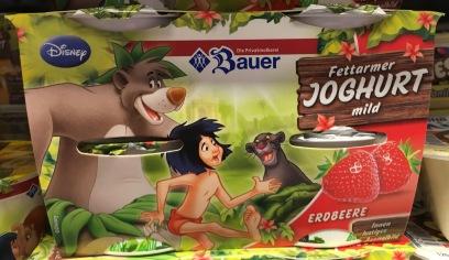Bauer Disney Dschungelbuch Joghurt