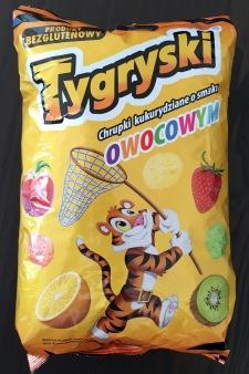 Flips: Polnische Flips mit Obstgeschmack.
