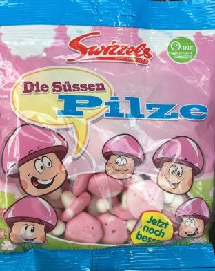 Süße Rosa Pilze Swizzels
