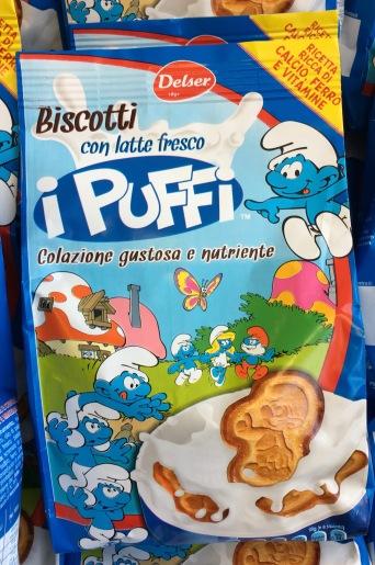 Biscotti Kekse Puffi Schlümpfe
