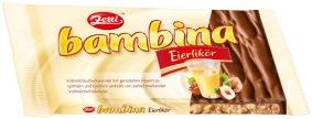Zettis Schokolade Bambina in der Geschmacksrichtung Eierlikör.