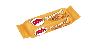 Fritt karamell Toffee