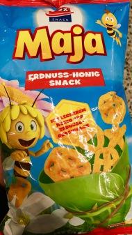 Biene Maja-Erdnuss-Snack mit 0,5% Honig!