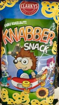 Clarky's Karli Kugelblitz Knabber Snack