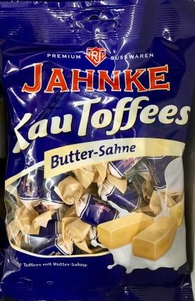 Sowie KauToffees mit Butter-Sahne-Geschmack.