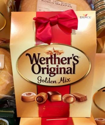 Werther's Original als gemischte Box (gefunden in Anatolien, Spanien)