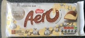 Special Flavour: Aero Luftschokolade Weihnachtsedition mit Vanille-Geschmack (gefunden in Gibraltar). Schmeckt übrigens nicht so toll - vor allem süß, nur leicht nach Vanille..