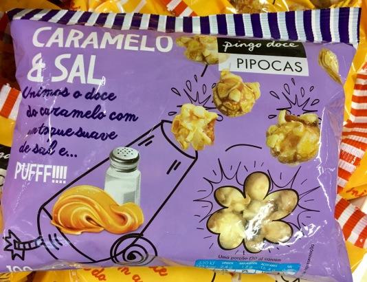 Popcorn von Pingo Doce / Pipoca mit Karamell und Salz (Portugal)