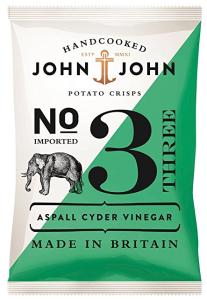 John & John Crisps Aspall Cyder Vinegar