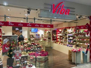 Viba-Shop im Leipziger Hauptbahnhof.