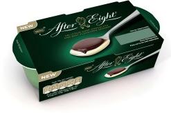 After Eight von Nestlé als Pudding aus dem Kühlregal.
