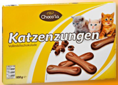 Katzenzungen von Choco'la