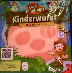 Kinderwurst Karli Kugelblitz Netto