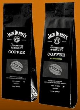 Kaffee und entkoffinierter Kaffee von Jack Daniels.