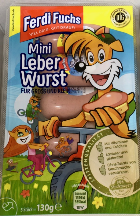 Ferdi Fuchs Mini-Leberwurst Stockmeyer