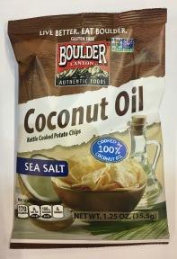 Eine weitere Innovation von Boulder sind Chips mit Meersalz, die in Kokosnussöl gebacken wurden. Mehr dazu hier: http://www.bouldercanyonfoods.com/