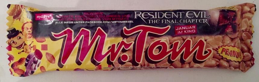 Nochmal Mr. Tom mit Residence Evil 6-Werbung.