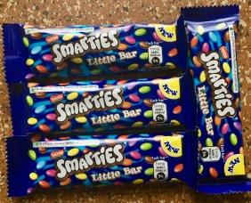 Nestlé Smarties Little Bar Schokoriegel