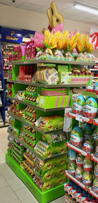 Display Lindt Ostern 2017