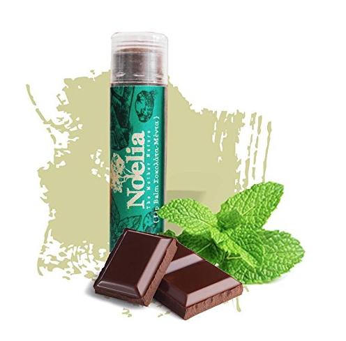 Dieser Lippenstift von Noellia verwöhnt die Lippen mit einem Minz-Schokoladen-Aroma!