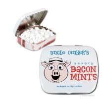 Wer will sich nicht vor einem Geschäftstermin den Atem mit Speck-Minzbonbons erfrischen?!