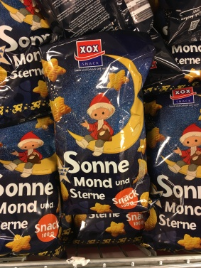 XOX Sandmännchen Sonne Mond und Sterne Snack